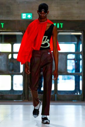 Xander Zhou Menswear Spring Summer 2019 London12