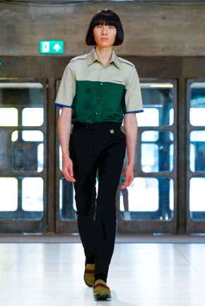 Xander Zhou Menswear Spring Summer 2019 London14
