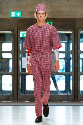 Xander Zhou Menswear Spring Summer 2019 London15