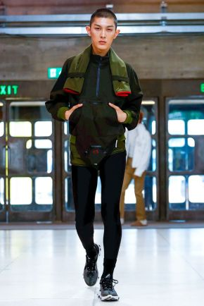 Xander Zhou Menswear Spring Summer 2019 London19
