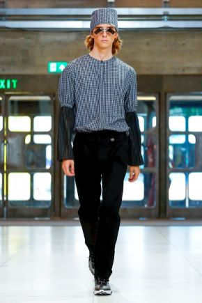 Xander Zhou Menswear Spring Summer 2019 London23