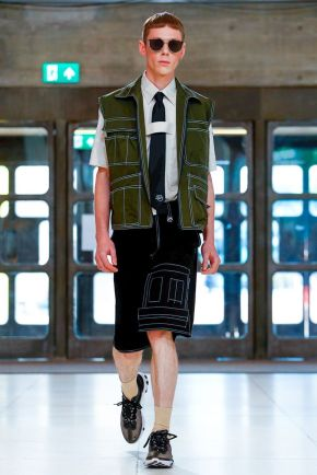 Xander Zhou Menswear Spring Summer 2019 London32