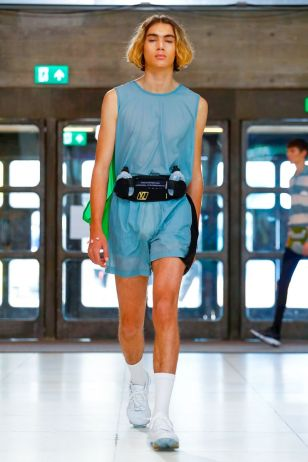 Xander Zhou Menswear Spring Summer 2019 London38
