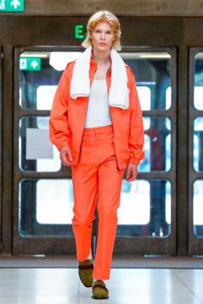 Xander Zhou Menswear Spring Summer 2019 London4