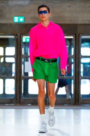 Xander Zhou Menswear Spring Summer 2019 London46
