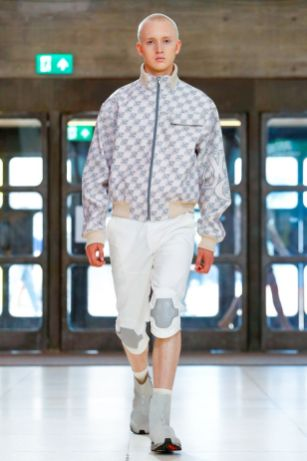 Xander Zhou Menswear Spring Summer 2019 London51