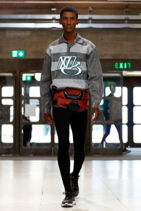 Xander Zhou Menswear Spring Summer 2019 London7
