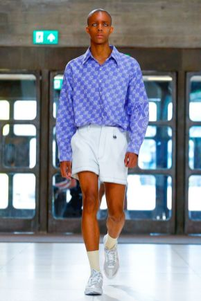 Xander Zhou Menswear Spring Summer 2019 London8