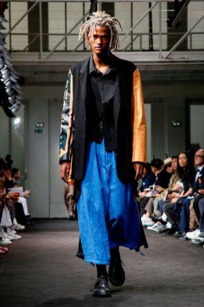 Yohji Yamamoto Menswear Spring Summer 2019 Paris18