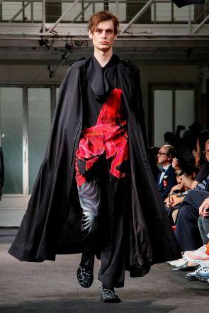 Yohji Yamamoto Menswear Spring Summer 2019 Paris29