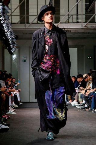 Yohji Yamamoto Menswear Spring Summer 2019 Paris31