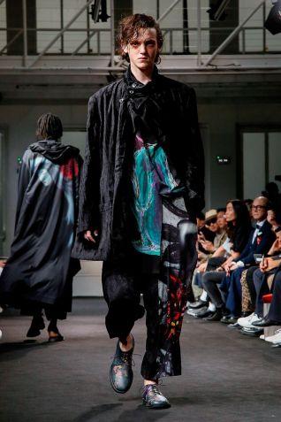 Yohji Yamamoto Menswear Spring Summer 2019 Paris39