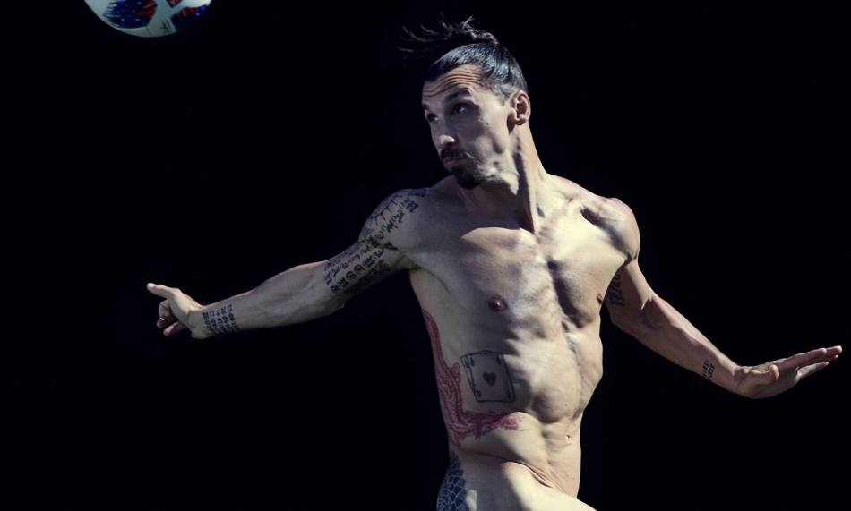 Zlatan Ibrahimović for ESPN Body Issue 10