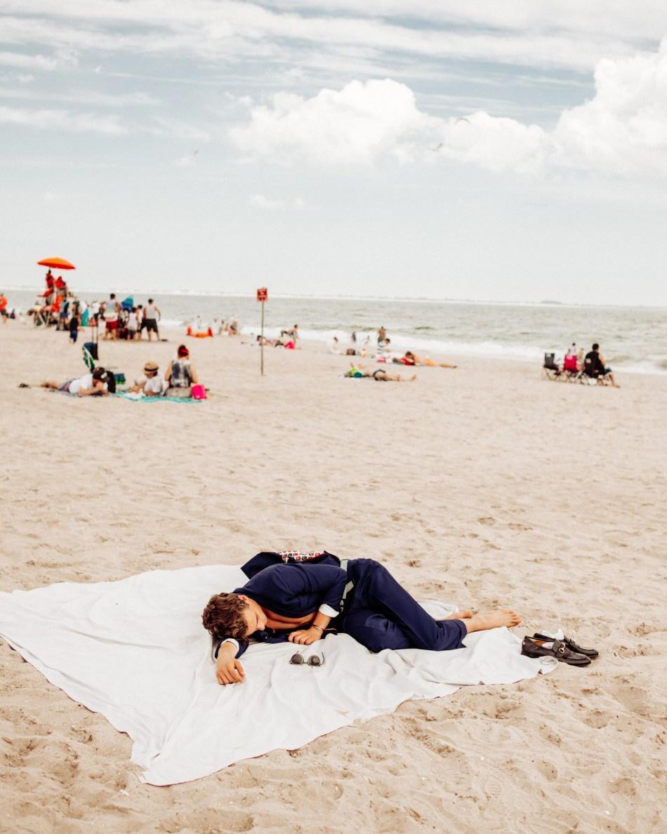 Sleeping On the Beach | V MAN