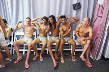 Parke and Ronen Spring Summer 2019 NYFW Backstage2