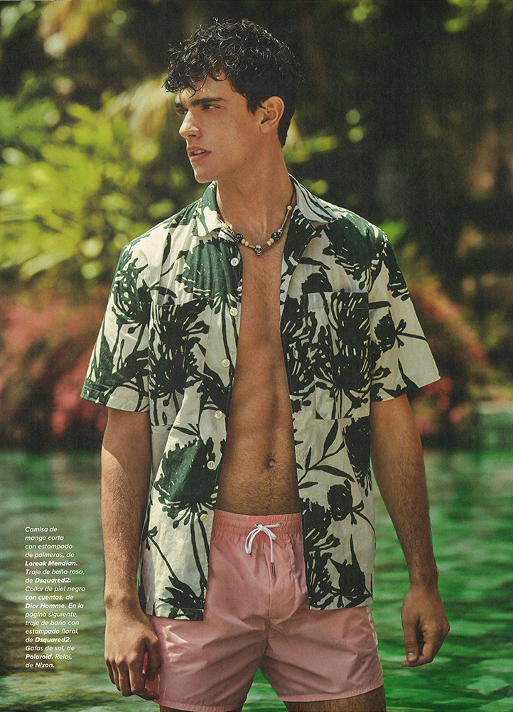 Top Model Xavier Serrano for Código Único Magazine