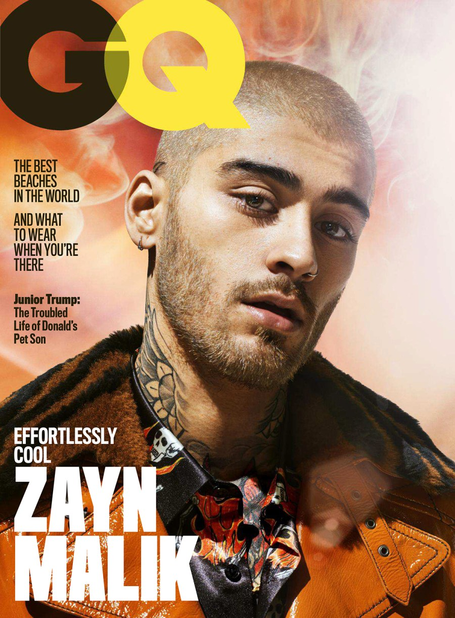 See Effortlessly Cool Zayn Malik for US GQ July 2018