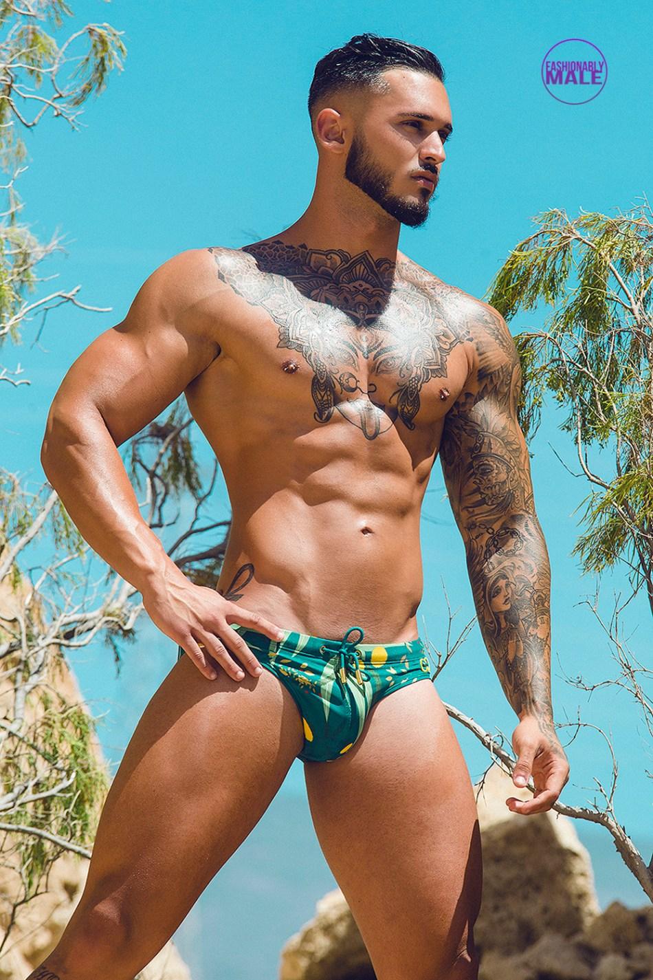 Fitness Model Antonio Crispino Comes Back Thanks to Adrian C. Martín
