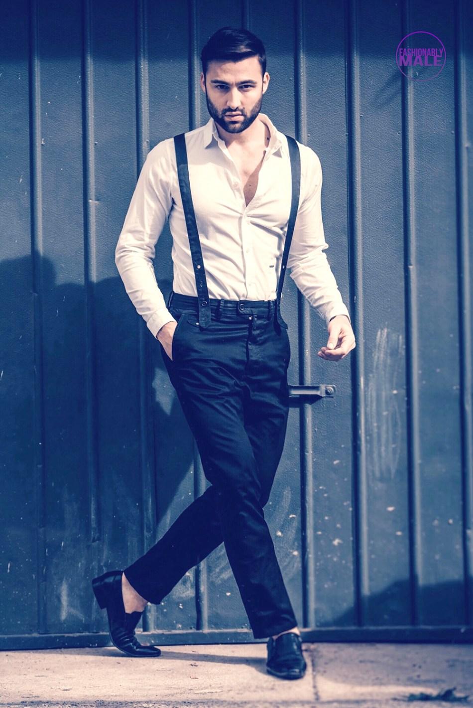 Model John Strand Slays in India where He Works Successfully
