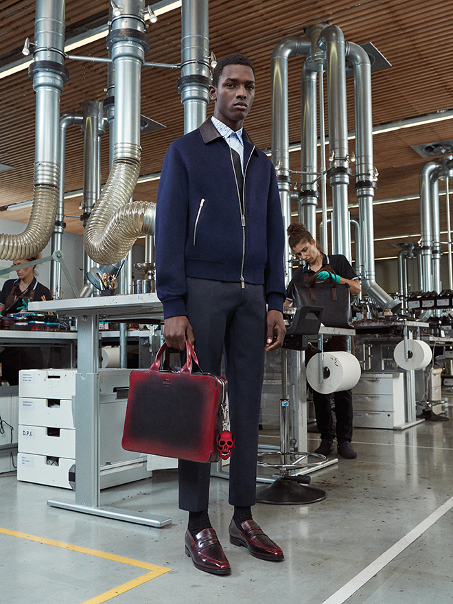 Berluti exposed first looks from Kris Van Assche for Spring 2019