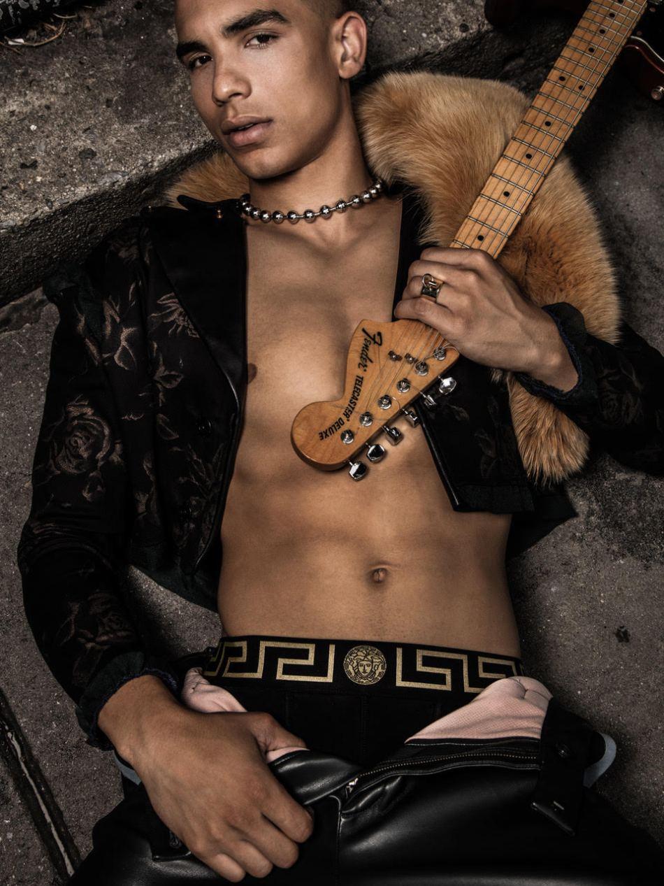 Colin Alexander in Desnudo Magazine by Giovanni Martins