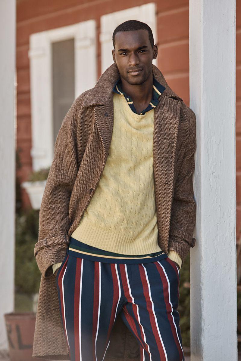 Corey Baptiste for Ralph Lauren x Mr Porter