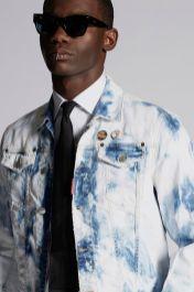 Shreaded Bleach Dan Denim Jacket