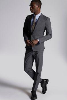 Cotton Check London Suit