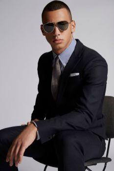 Textured Wool Tokyo Suit