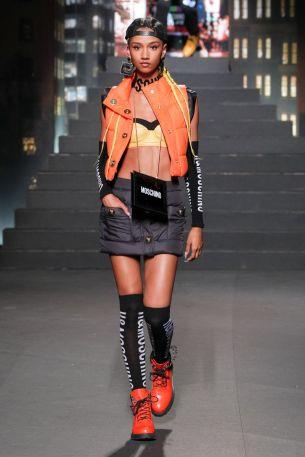Moschino [tv] x H&M Fall Winter 2018 New York24