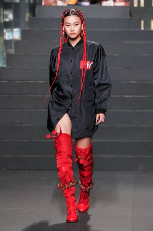 Moschino [tv] x H&M Fall Winter 2018 New York27