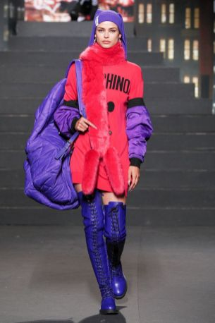 Moschino [tv] x H&M Fall Winter 2018 New York30