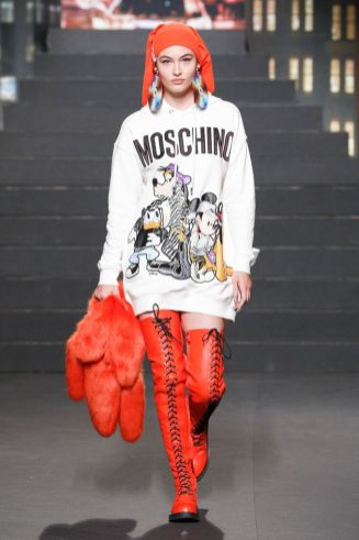 Moschino [tv] x H&M Fall Winter 2018 New York39