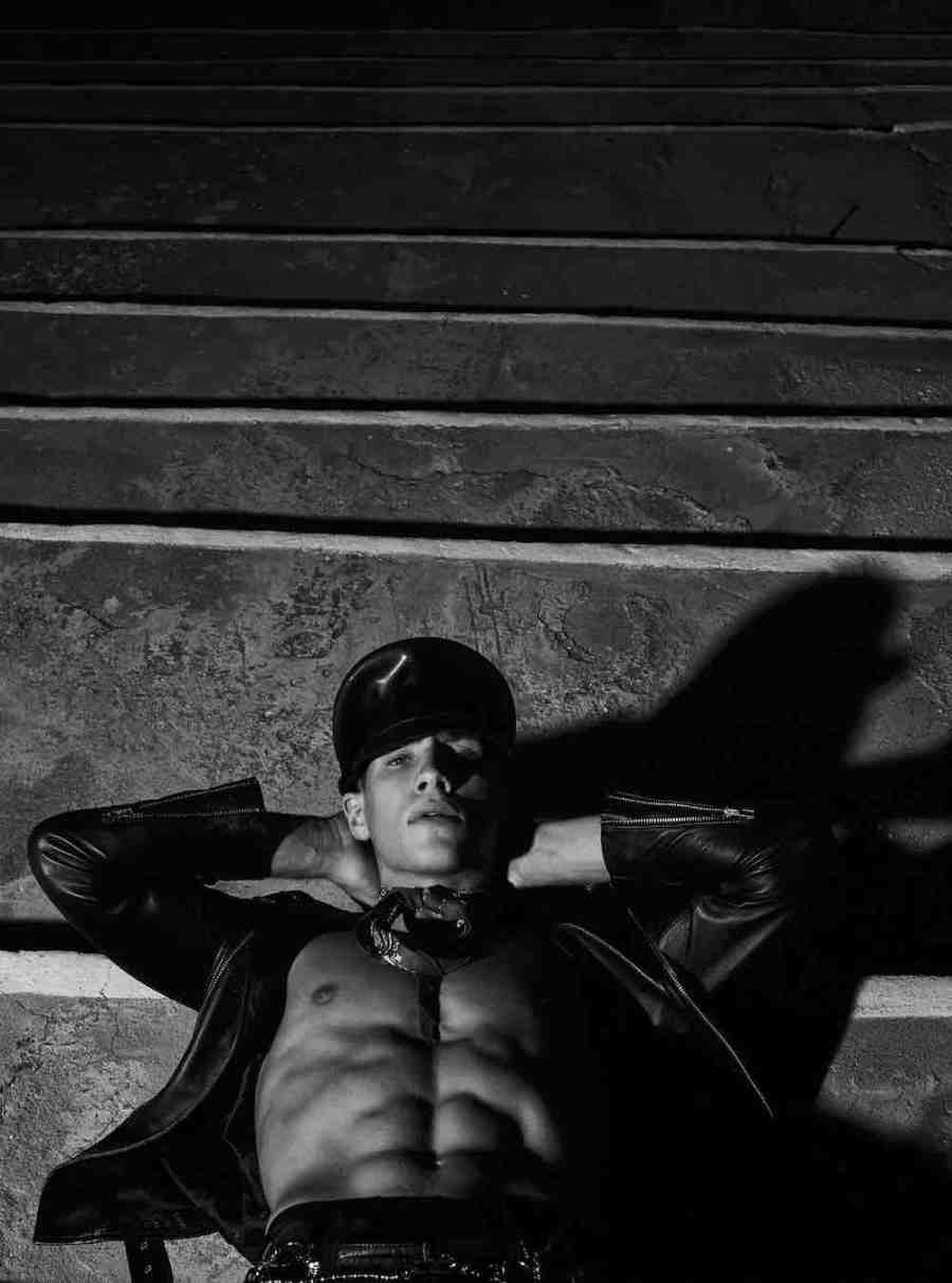 "Exclusive for VMAN ""Noir"" by Kosmas Pavlos"