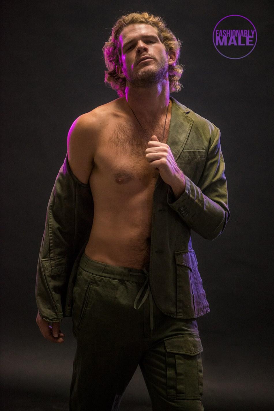 Rediscovering Model Jake Jensen by Walter Tabayoyong