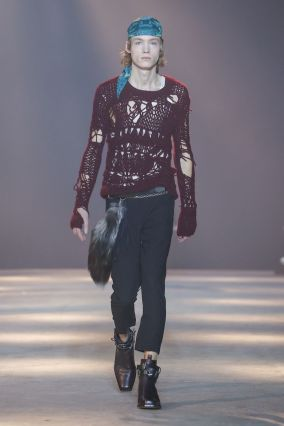 Ann Demeulemeester Menswear Fall Winter 2019 Paris3
