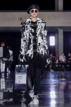 Balmain Homme Menswear Fall Winter 2019 Paris14