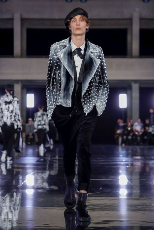 Balmain Homme Menswear Fall Winter 2019 Paris38