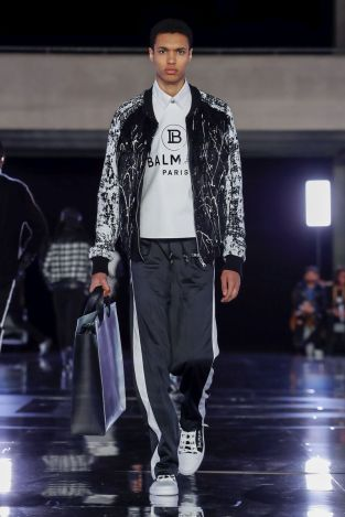 Balmain Homme Menswear Fall Winter 2019 Paris5