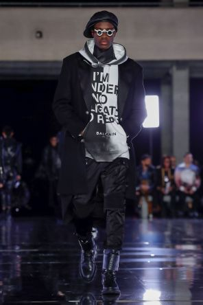 Balmain Homme Menswear Fall Winter 2019 Paris61