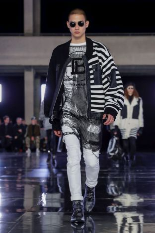 Balmain Homme Menswear Fall Winter 2019 Paris89