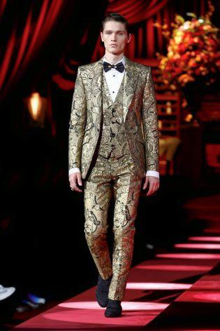 Dolce & Gabbana Menswear Fall Winter 2019 Milan101