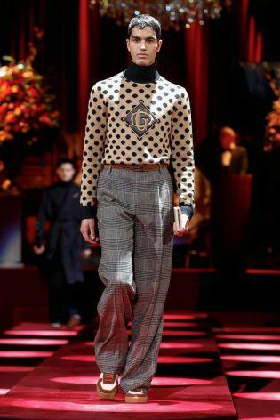 Dolce & Gabbana Menswear Fall Winter 2019 Milan103