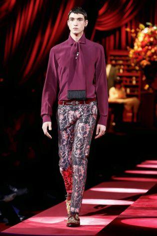 Dolce & Gabbana Menswear Fall Winter 2019 Milan119