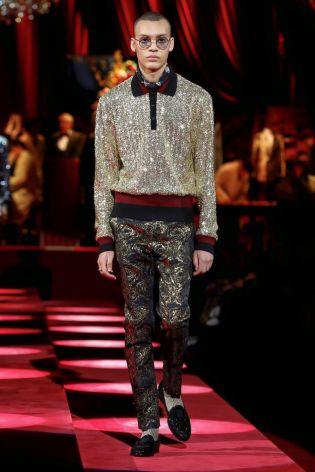 Dolce & Gabbana Menswear Fall Winter 2019 Milan124