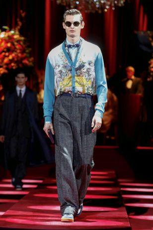 Dolce & Gabbana Menswear Fall Winter 2019 Milan16