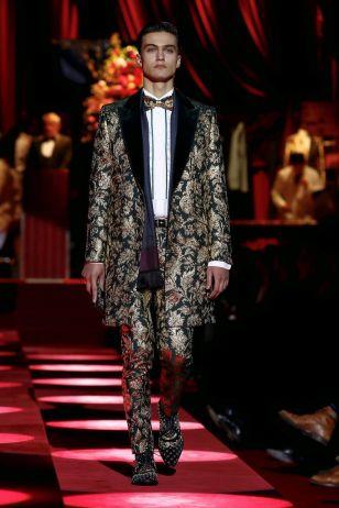 Dolce & Gabbana Menswear Fall Winter 2019 Milan26