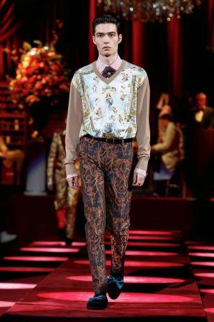 Dolce & Gabbana Menswear Fall Winter 2019 Milan28