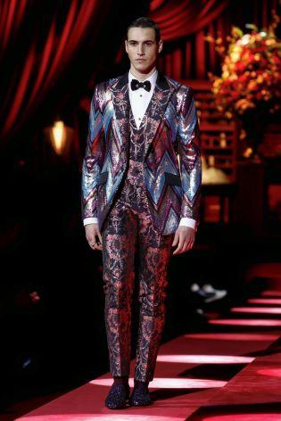 Dolce & Gabbana Menswear Fall Winter 2019 Milan69
