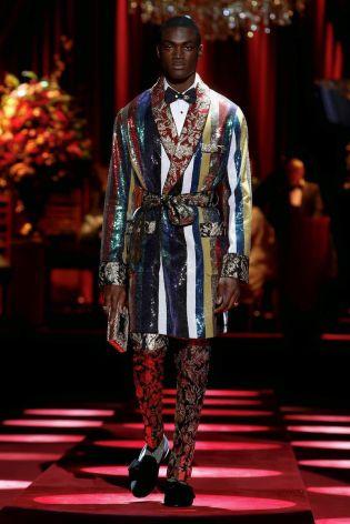 Dolce & Gabbana Menswear Fall Winter 2019 Milan80
